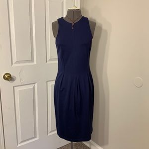 J.McLaughlin navy formal dress